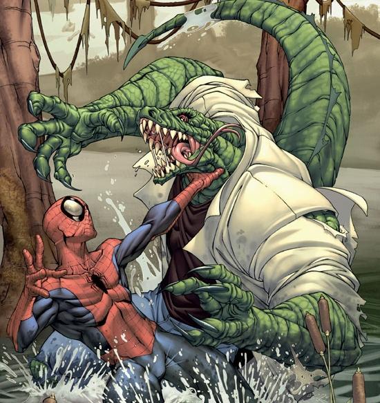 ящера из человека паука