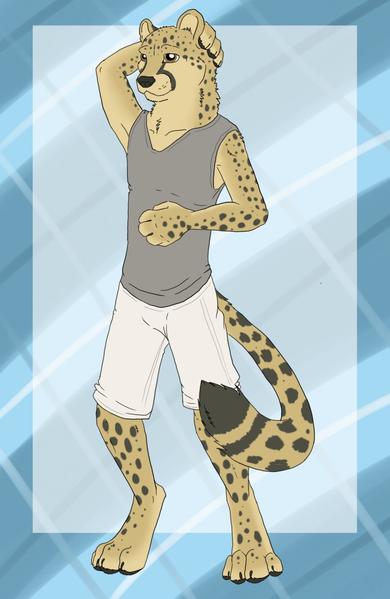 Фурри пятнистый гепард фото 242-585