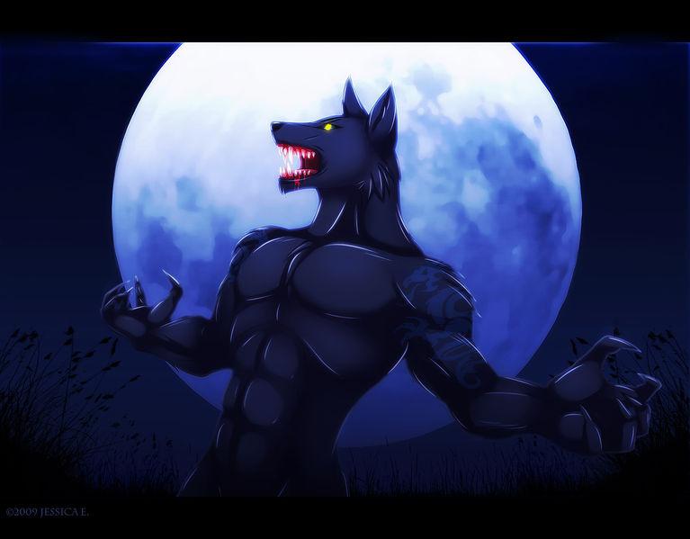 Фурри волки люди