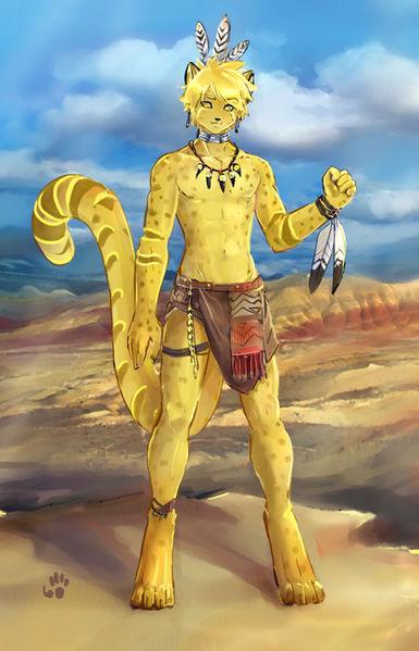 Фурри пятнистый гепард фото 242-210