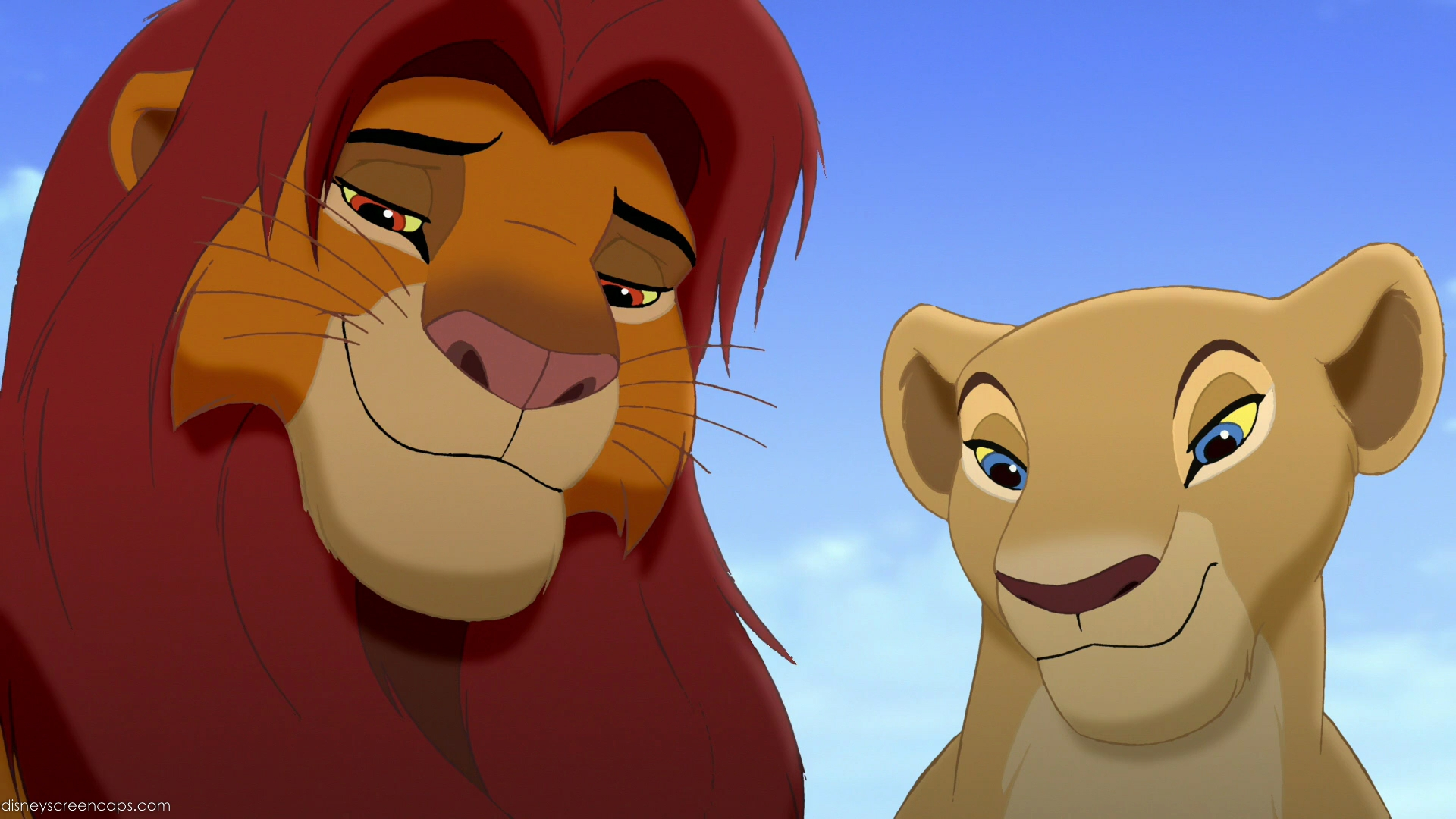 Прикольные картинки львов из короля льва, рамка сердце