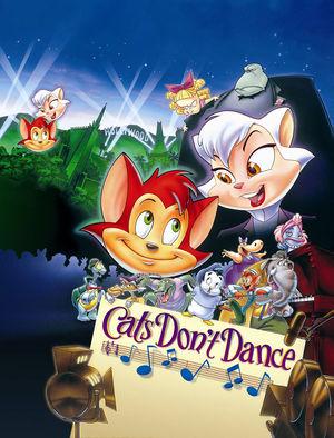 Постер мультфильма «Коты не танцуют»