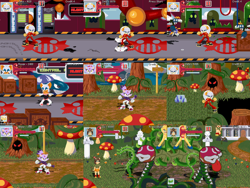 Sonic love potion disaster gallery